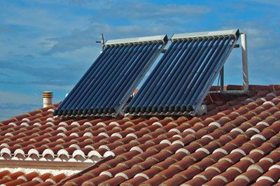 Sistemas de energia solar termica colectores solares y - Placas solares agua caliente ...