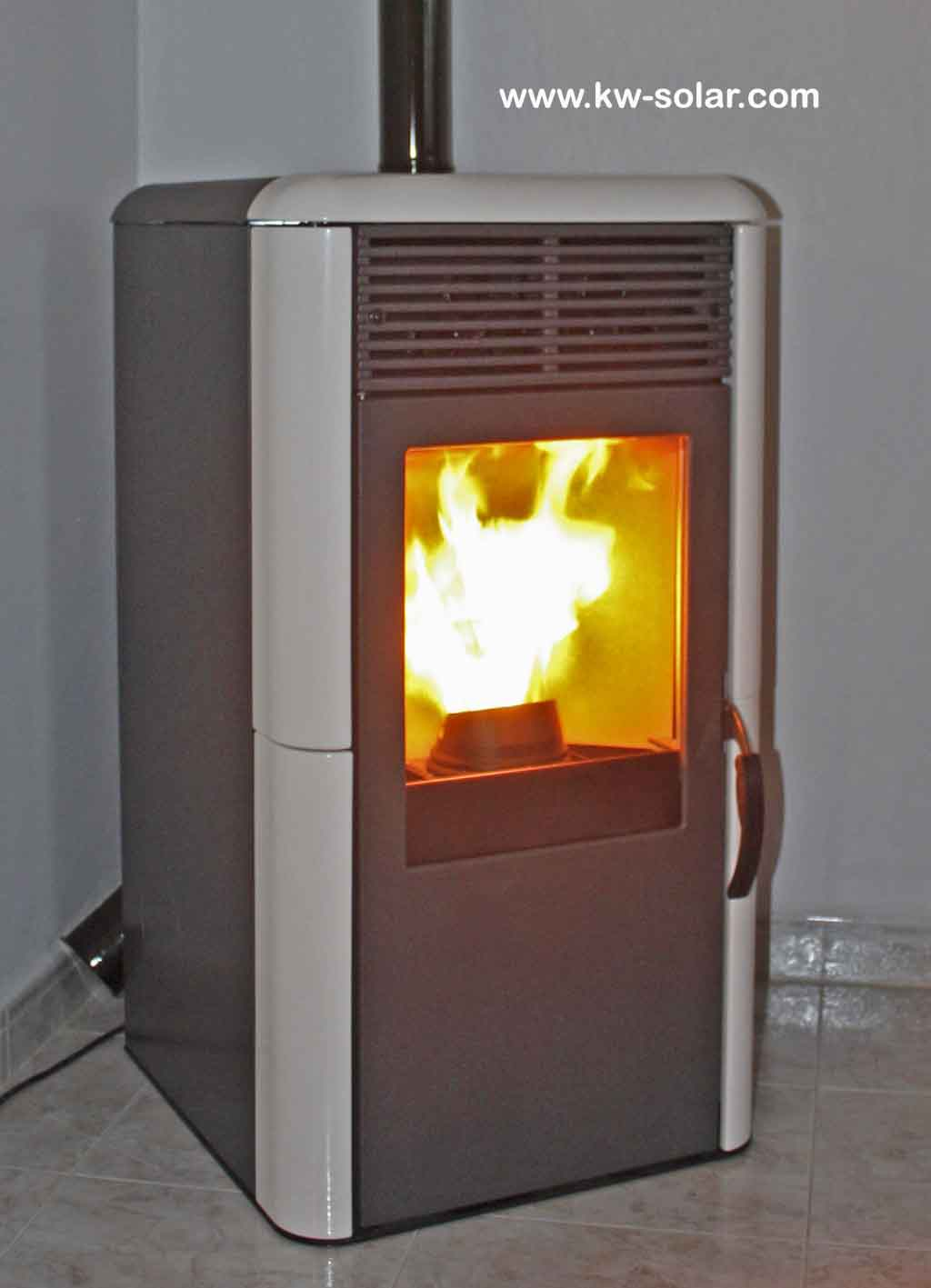Pellet stove Point Edilkamin 8 kW